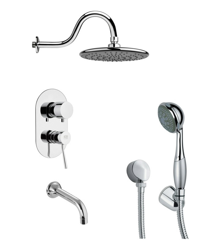 Nameeks TSH4073 Remer Tub and Shower Faucet