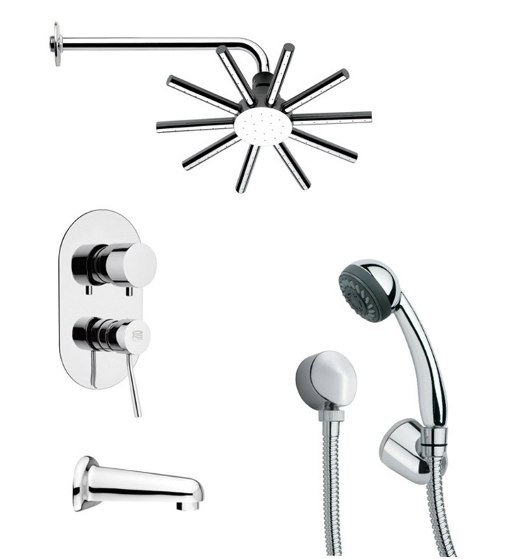 Nameeks TSH4086 Remer Tub and Shower Faucet