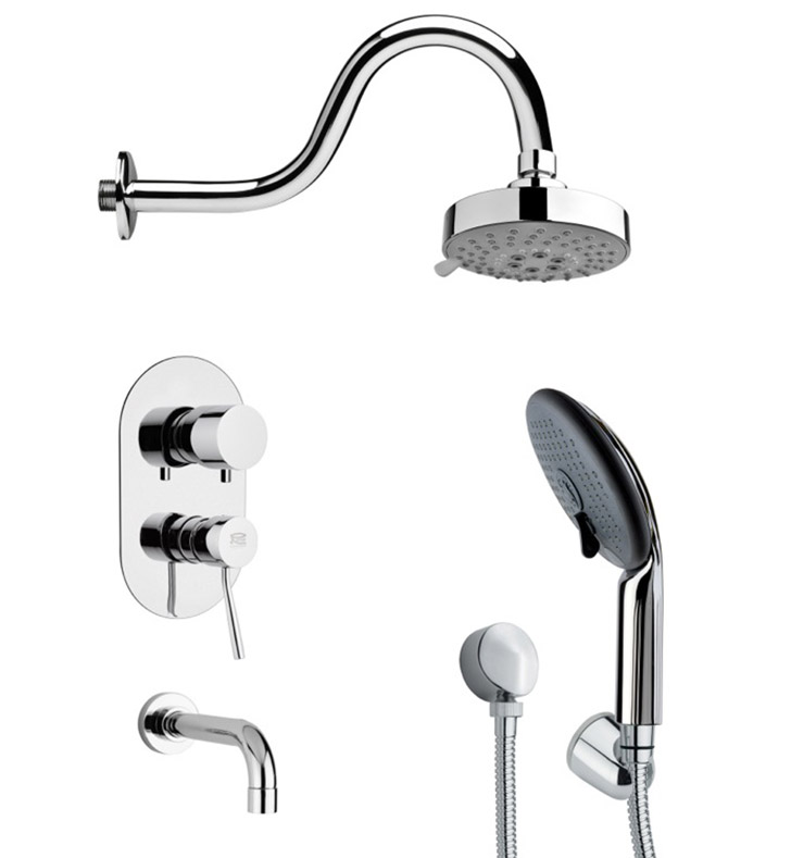 Nameeks TSH4106 Remer Tub and Shower Faucet