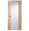 Arazzinni G202-BO Grand 202 Interior Door in a Bleached Oak Finish with Frosted Glass