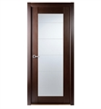 Arazzinni M209-W Maximum 209 Interior Door in a Wenge Finish with Frosted Glass