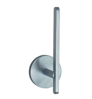 Smedbo LS320 Loft Spare Toilet Roll Holder Wallmount in Brushed Chrome