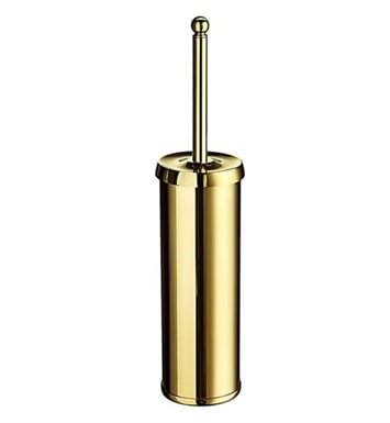 Smedbo V233 Villa Toilet Brush Free Standing in Polished Brass