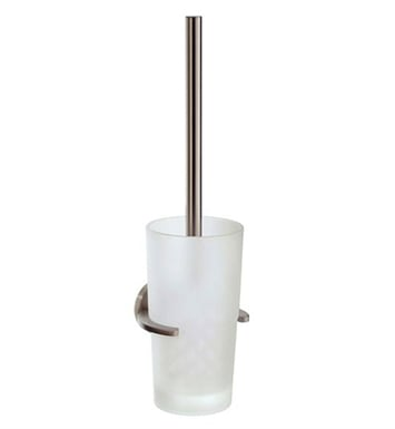 Smedbo L333N Loft Toilet Brush Wallmount in Brushed Nickel