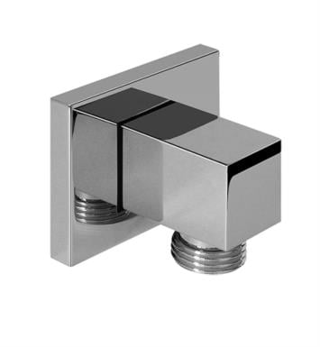 "Graff G-8633-SN 2 1/2"" Contemporary Wall Mount Square Supply Elbow With Finish: Steelnox (Satin Nickel)"