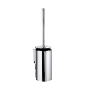 "Smedbo ZK332 Pool 4 1/4"" Wall Mount Toilet Brush and Holder in Polished Chrome"