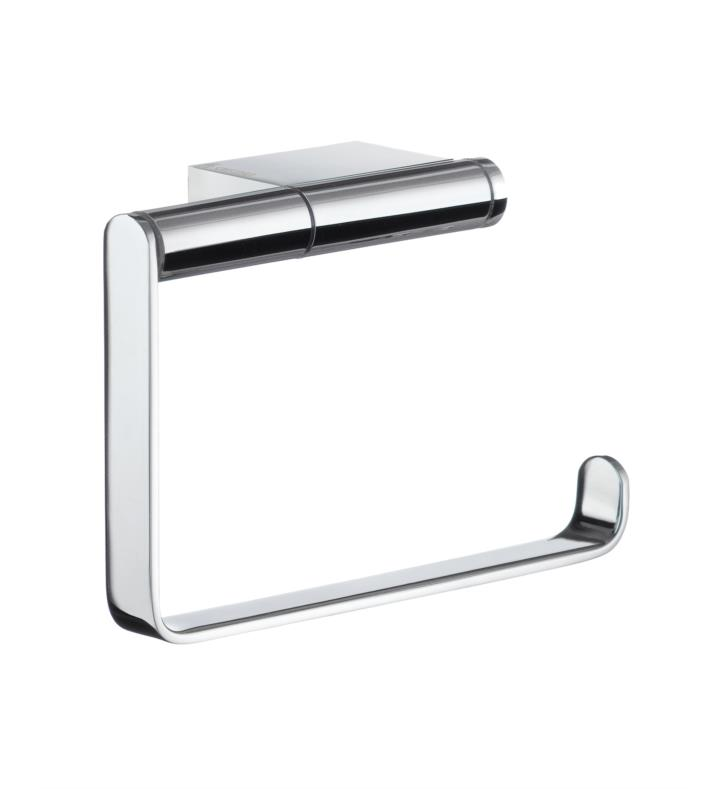 "Smedbo AK341 Air 5"" Euro Toilet Paper Holder in Polished Chrome"