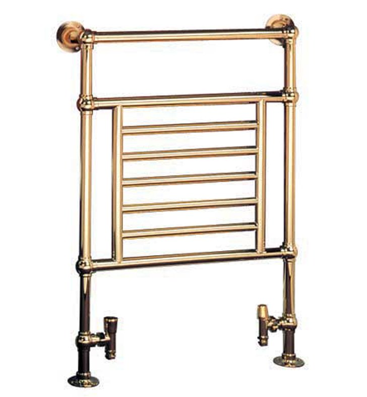 Myson B27-1WH Awe Traditional Hydronic Towel Warmer With Finish: White