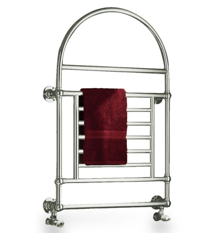 "Myson B29NI European Tradition 27 1/4"" Wall Mount Hydronic Towel Warmer With Finish: Polished Nickel"