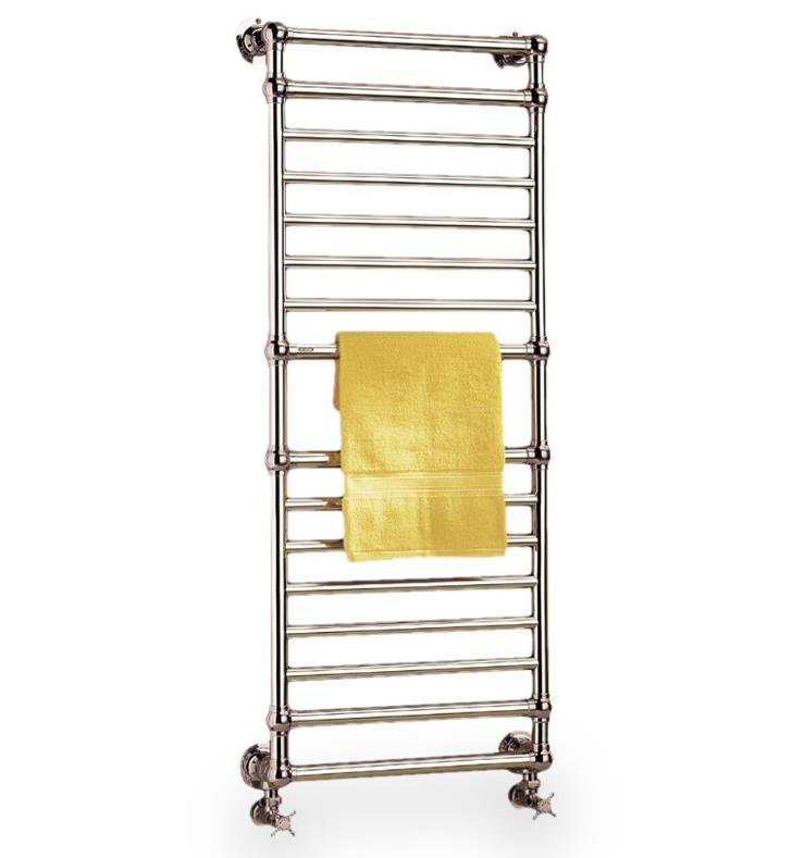 "Myson B36-1NI European Tradition 21 1/4"" Wall Mount Hydronic Towel Warmer With Finish: Polished Nickel"