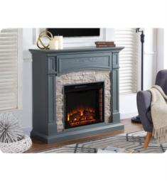 "Southern Enterprises FE9364 Seneca 45 3/4"" Electric Fireplace TV and Media Console in Grey"