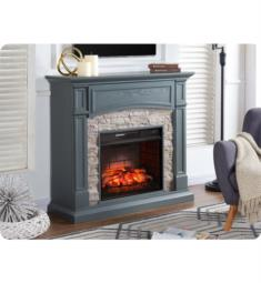 "Southern Enterprises FI9364 Seneca 45 3/4"" Infrared Electric Fireplace TV and Media Console in Grey"