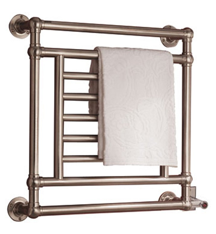 Myson EB31-1RB Salmon Traditional Electric Towel Warmer With Finish: Regal Brass