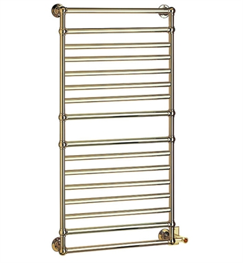 Myson EB36-1RB Ullswater Traditional Electric Towel Warmer With Finish: Regal Brass