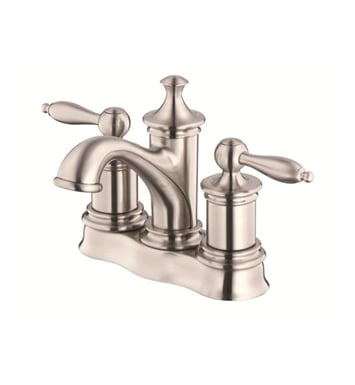 Danze D301010BN Prince™ Two Handle Centerset Lavatory Faucet in Brushed Nickel