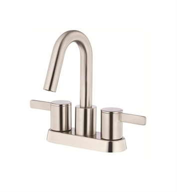 Danze D301030BN Amalfi™ Two Handle Centerset Lavatory Faucet in Brushed Nickel