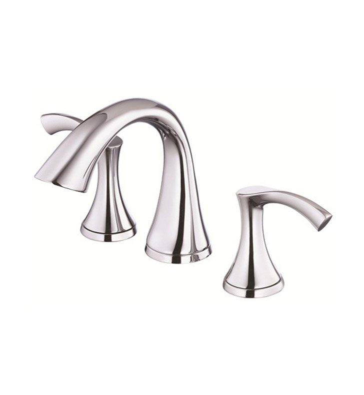 Danze D304022 Antioch™ Two Handle Mini Widespread Lavatory Faucet in Chrome