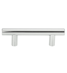 "Atlas Homewares A822 Linea Rail 3"" Center to Center Bar Cabinet Pull"