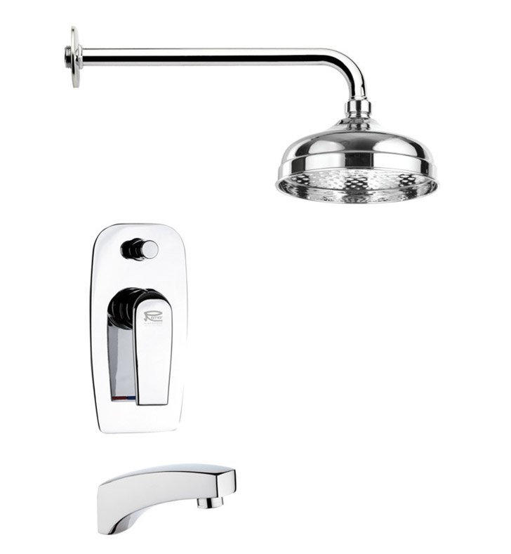 Nameeks TSF2039-14 Remer Tub and Shower Faucet With Finish: Black