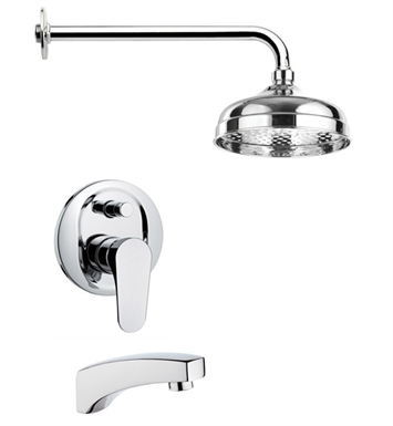 Nameeks TSF2042-14 Remer Tub and Shower Faucet With Finish: Black