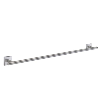 Smedbo RS3464 House Towel Rail Single in Brushed Chrome