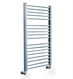"Myson COS86 Classic Comfort 23 5/8"" Wall Mount D-Shaped Hydronic Towel Warmer"