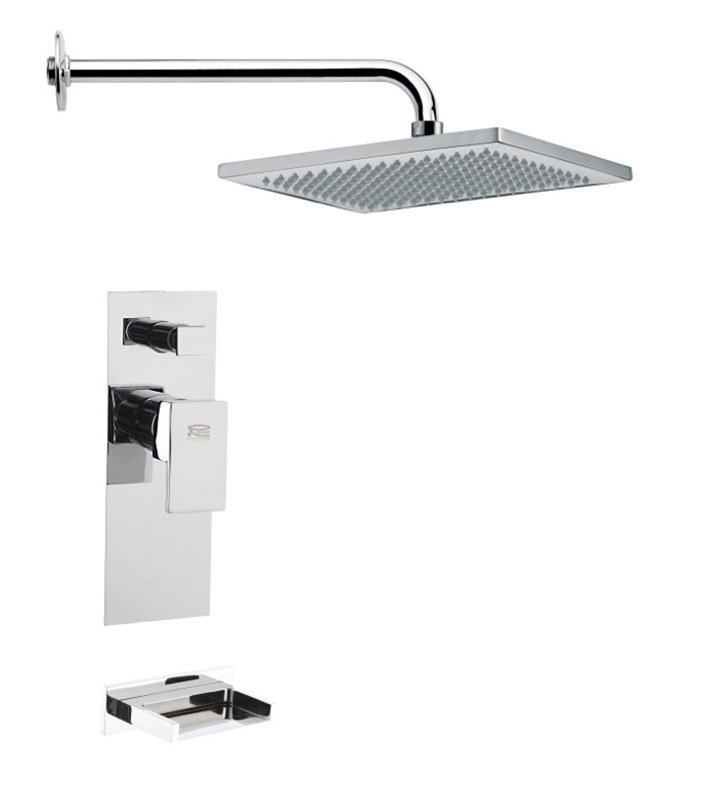 Nameeks TSF2117-14 Remer Tub and Shower Faucet With Finish: Black