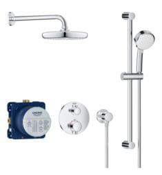 Grohe 347450 Grohtherm Thermostatic Valve Shower System