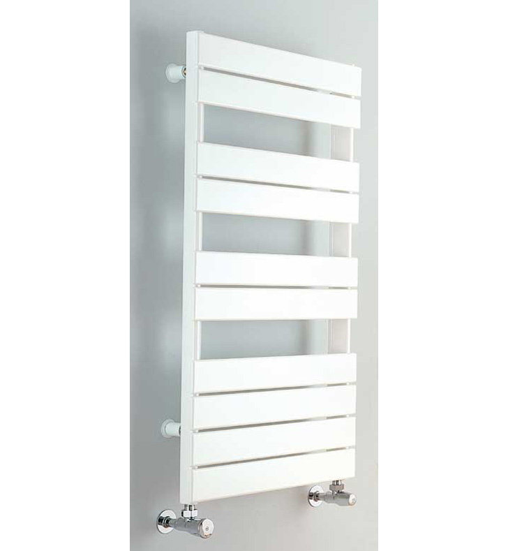Myson INT-2 Interlude White Contemporary Hydronic Towel Warmer