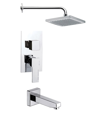 Nameeks TSF2127-14 Remer Tub and Shower Faucet With Finish: Black