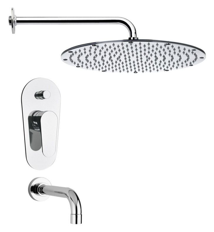 Nameeks TSF2140 Remer Tub and Shower Faucet