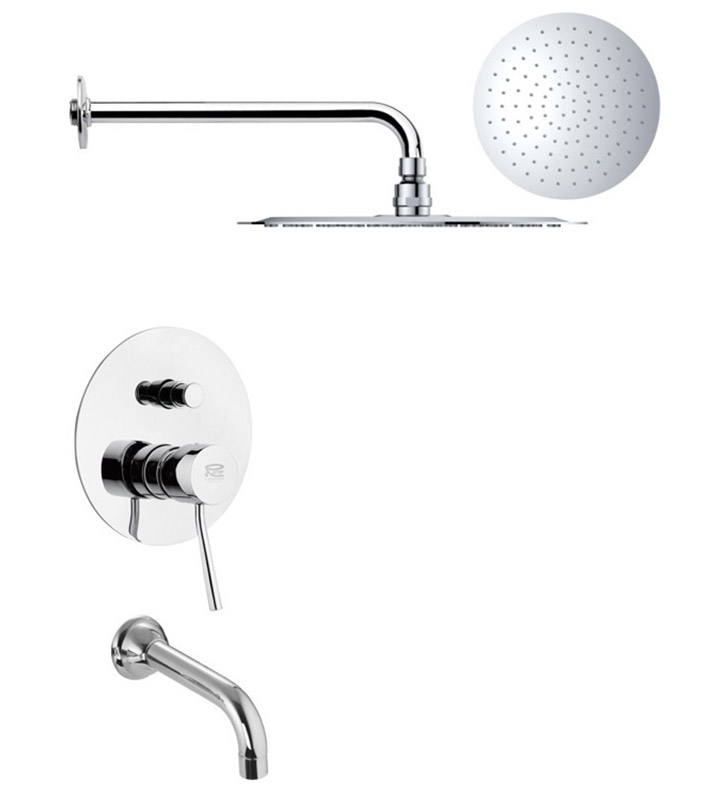 Nameeks TSF2169 Remer Tub and Shower Faucet