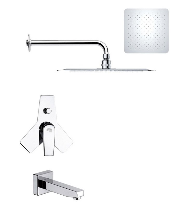 Nameeks TSF2182 Remer Tub and Shower Faucet