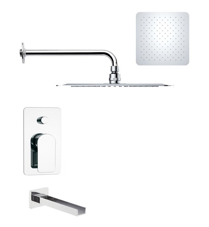 Nameeks TSF2183 Remer Tub and Shower Faucet