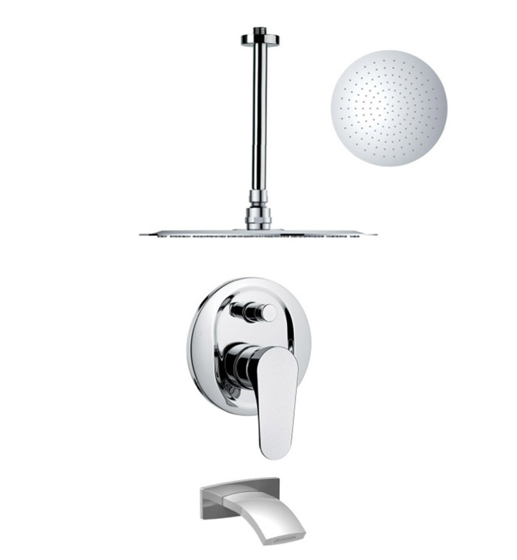 Nameeks TSF2267 Remer Tub and Shower Faucet