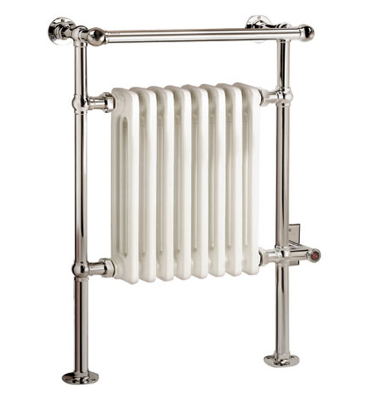 Myson EVR-1SN Dee Traditional Electric Towel Warmer With Finish: Satin Nickel