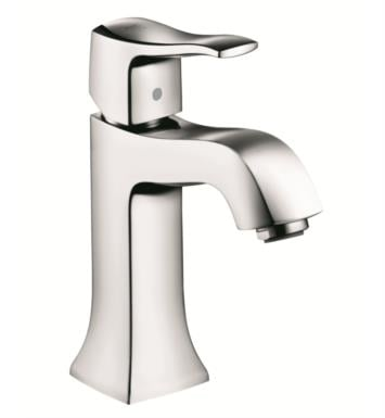 "Hansgrohe 31075 Metris C 4 1/2"" Single Handle Deck Mounted Bathroom Faucet"