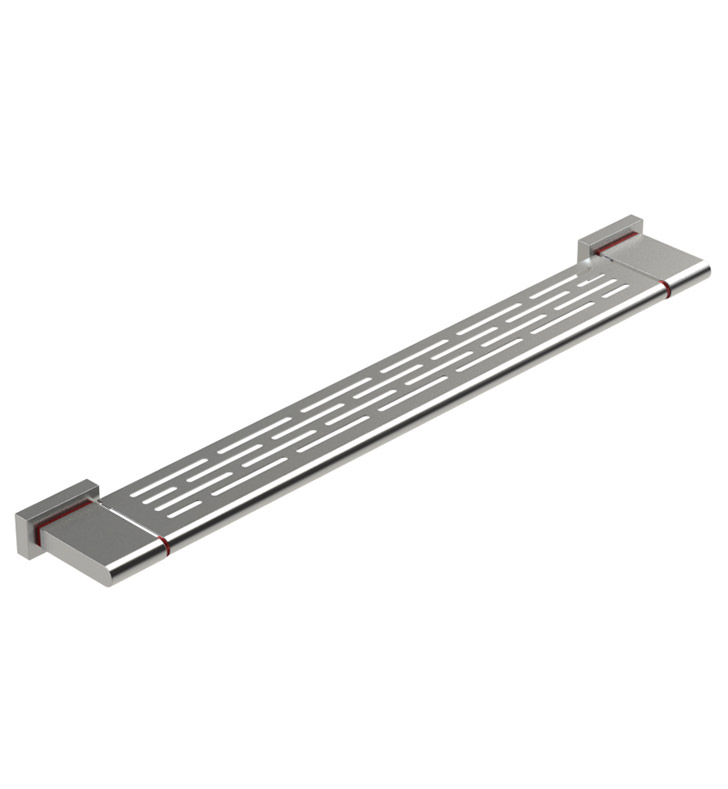 "Rubinet 7NRT0RDCH R10 29"" Shelf With Finish: Main Finish: Red 
