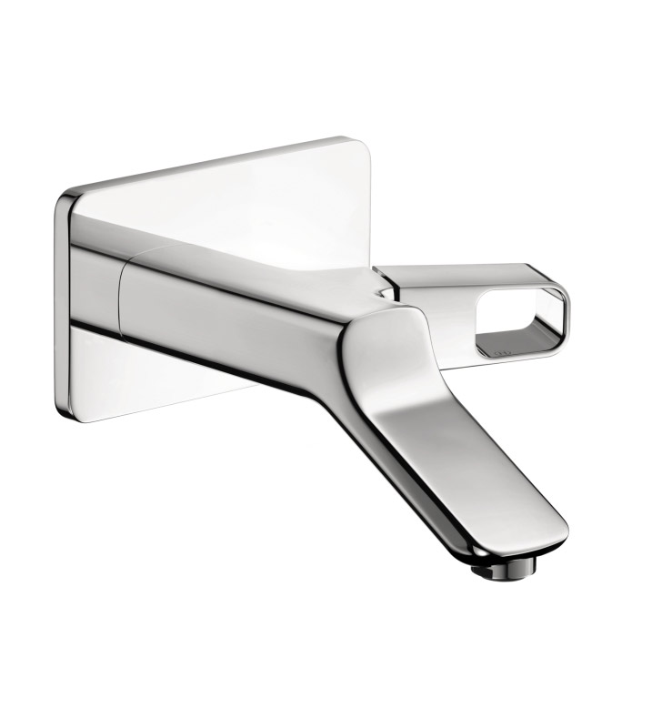 Hansgrohe 11026001 Axor Urquiola Wall Mounted Single Handle Faucet Trim in Chrome Finish