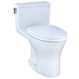 "TOTO MS856124CEMG Ultramax 27 3/8"" One Piece 1.28 GPF & 0.8 GPF Dual Flush Elongated Toilet"
