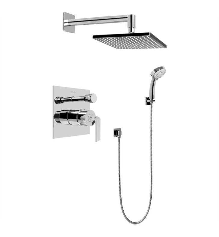 Graff G-7296-LM40S Immersion Contemporary Pressure Balancing Shower Set with Handshower