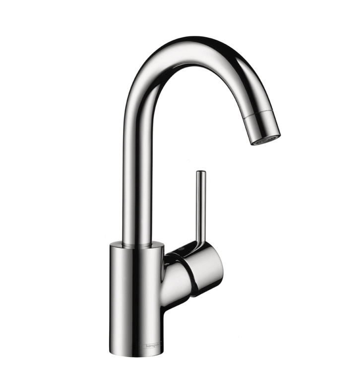 Hansgrohe 32070 Talis S Single Hole Faucet, High Swing Spout
