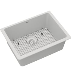"Elkay ELGU2522C Quartz Classic 24 5/8"" Single Bowl Undermount Sink Kit"