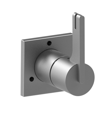 Rubinet 2XRTLSNSN R10 Two Way Diverter with Shut-Off With Finish: Main Finish: Satin Nickel | Accent Finish: Satin Nickel