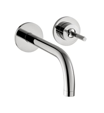 "Hansgrohe 38118001 Axor Uno 9 1/4"" Single Handle Wall Mount Bathroom Faucet With Finish: Chrome"
