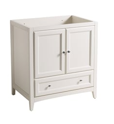 "Fresca FCB2030AW Oxford 30"" Antique White Traditional Bathroom Cabinet"