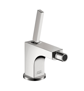 "Hansgrohe 39210001 Axor Citterio 5 1/2"" Single-Hole Deck Mounted Bidet Faucet With Finish: Chrome"