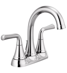 Delta 2533LF Kayra Two Handle Tract-Pack Centerset Bathroom Faucet