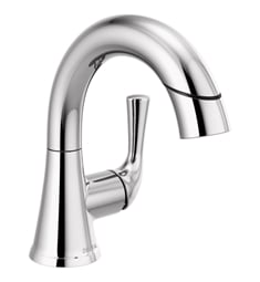 Delta 533LF-PDMPU Kayra Single Handle Pull-Down Bathroom Faucet