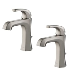 Kraus KBF-1211-2PK Esta Single Handle Bathroom Faucet with Lift Rod Drain (2-Pack)